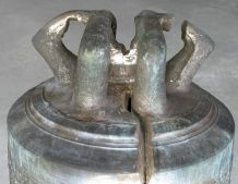 Bell restoration by welding to preserve the authenticity of