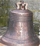 Bodet Campanaire restore the bell from the church Duault