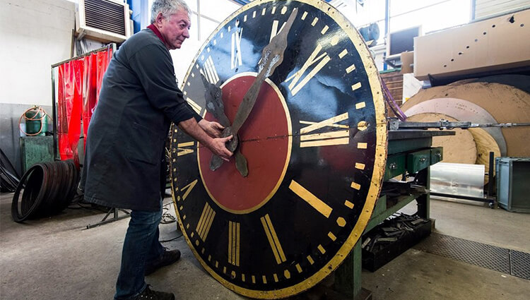Restoration of tower clocks